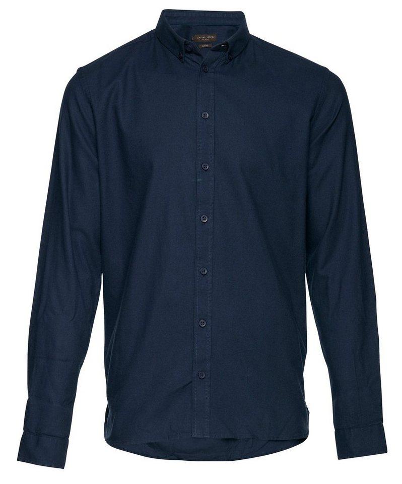 Casual Friday Hemden in Blau