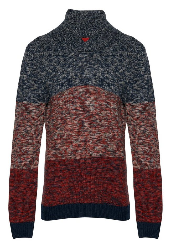 Blend Slim fit, Schmale Form, Pullover in Rot