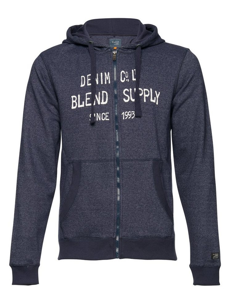Blend Slim fit, Schmale Form, Sweatshirts in Dunkel blau