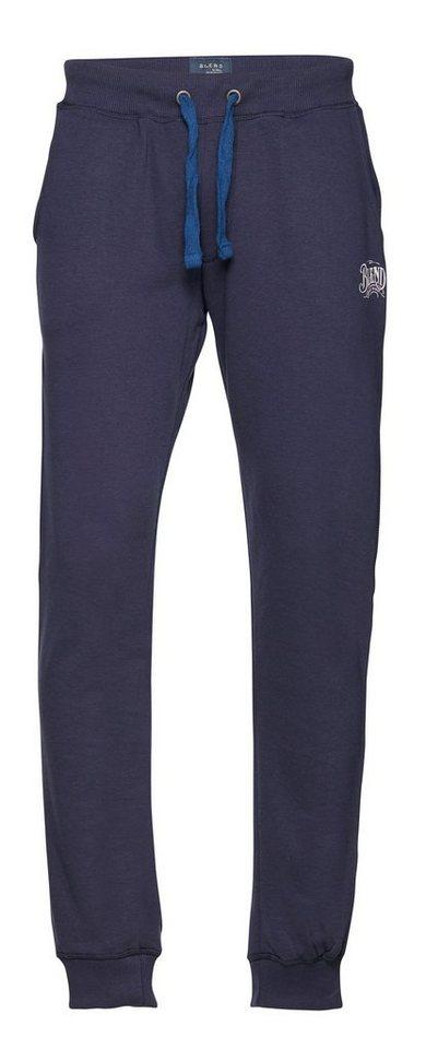 Blend Slim fit, Schmale Form, Hosen in Dunkel blau