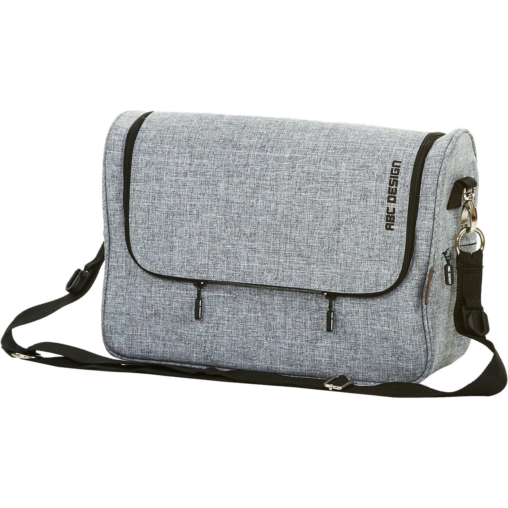 ABC Design Wickeltasche Classic, graphite grey