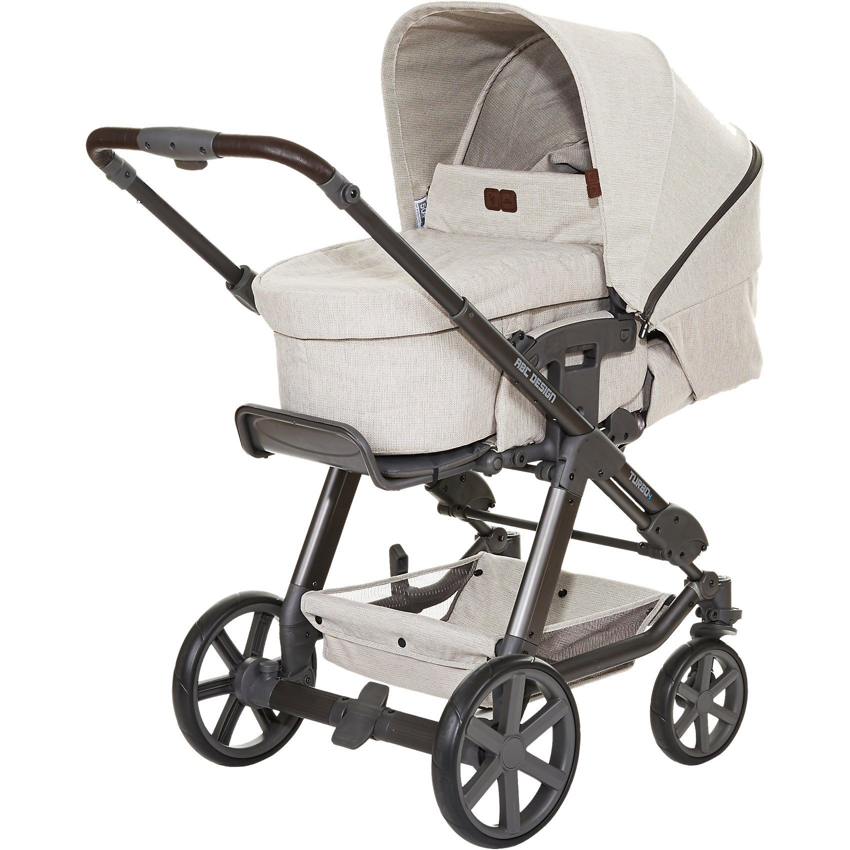 ABC Design Kombi Kinderwagen Turbo 4, camel, 2017