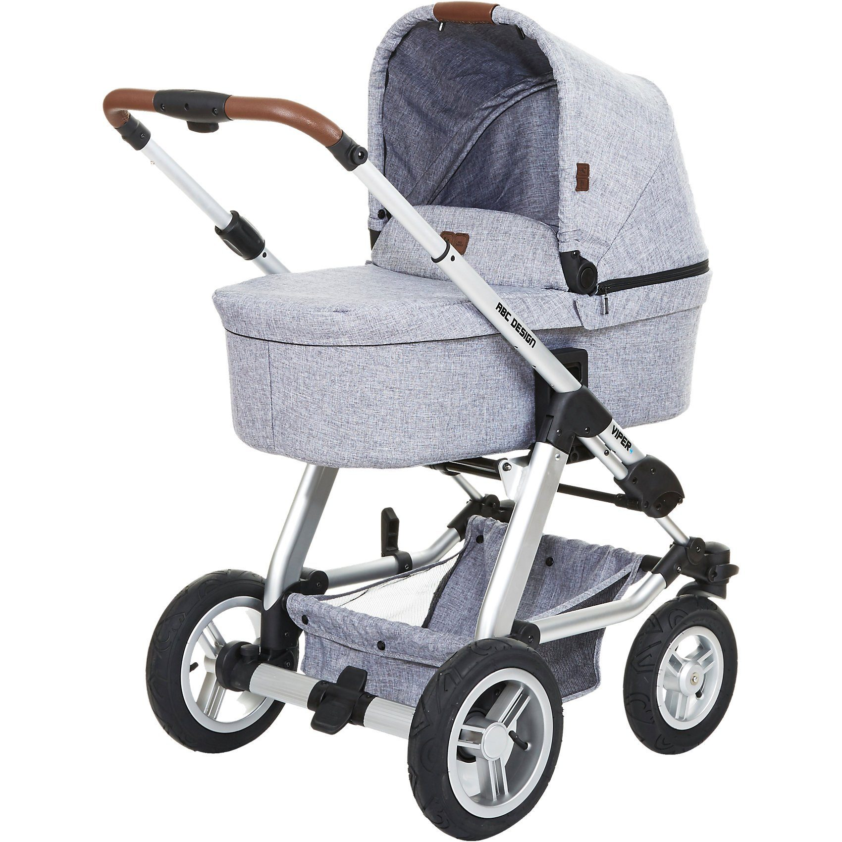 ABC Design Kombi Kinderwagen Viper 4, graphite grey, 2017