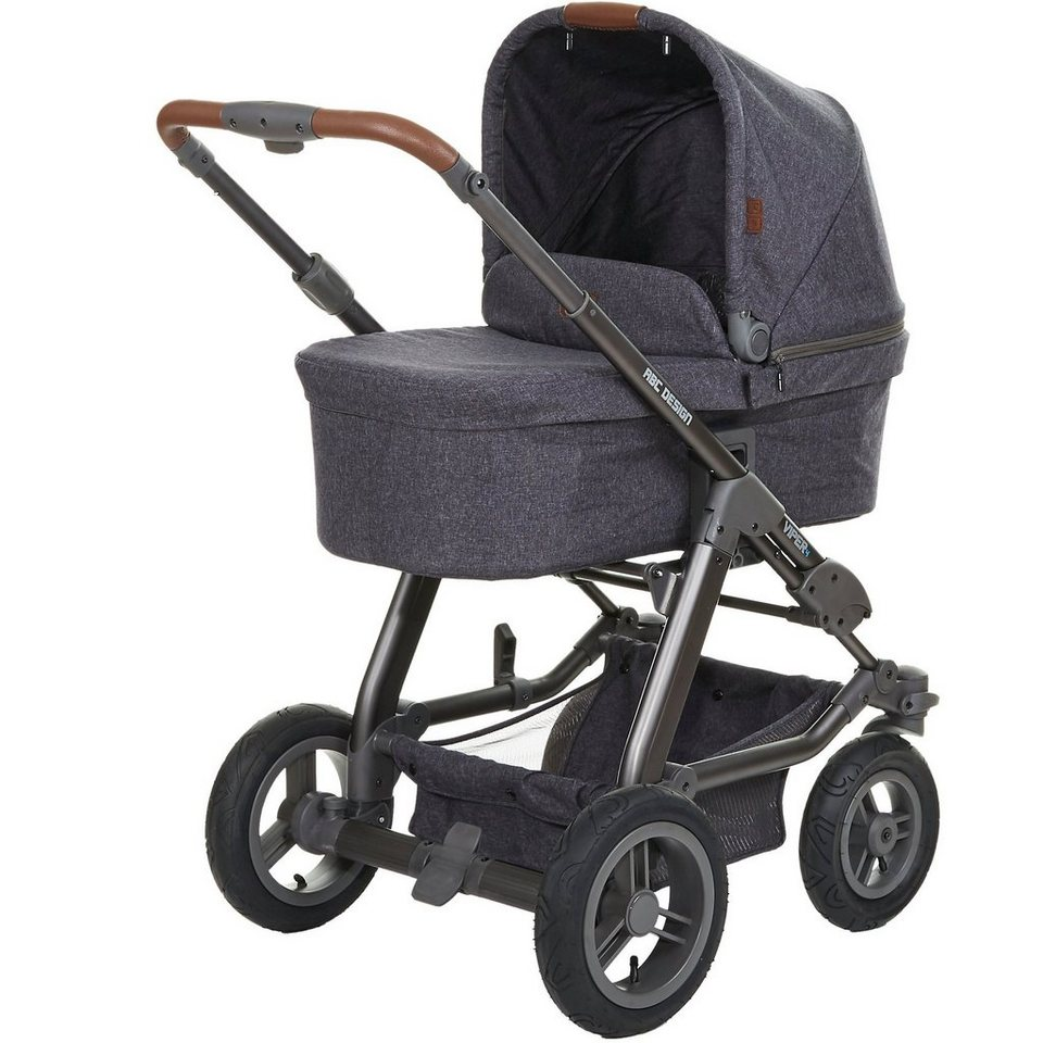 ABC Design Kombi Kinderwagen Viper 4, street, 2017 in anthrazit-grau