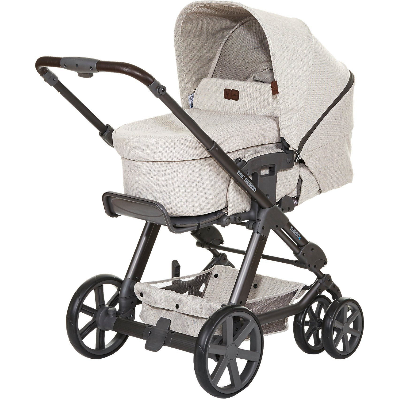 ABC Design Kombi Kinderwagen Turbo 6, camel, 2017