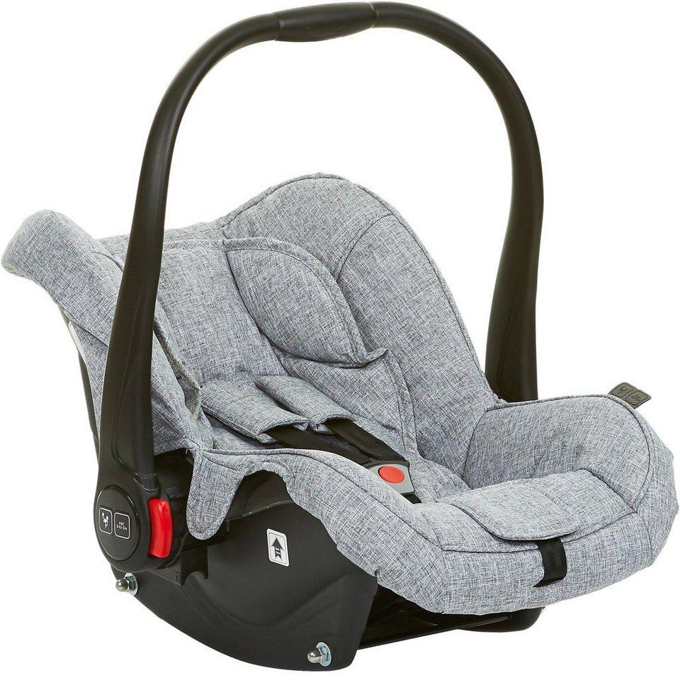 ABC Design Babyschale Hazel, graphite grey in hellgrau