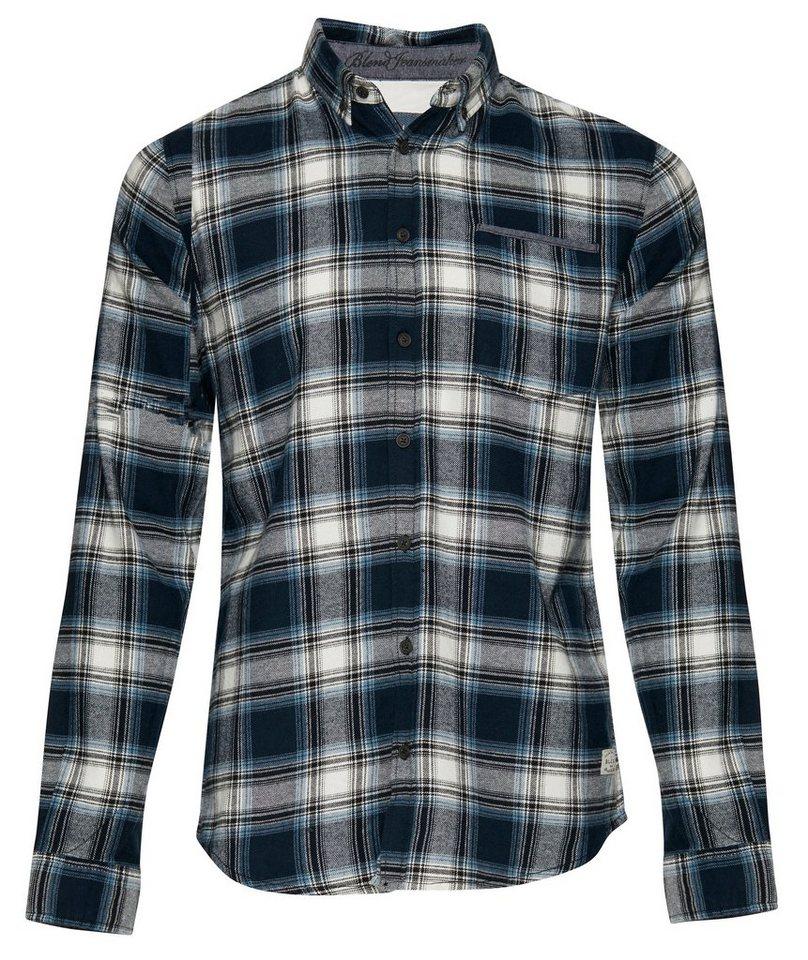 Blend Slim fit, Schmale Form, Hemden in Blau