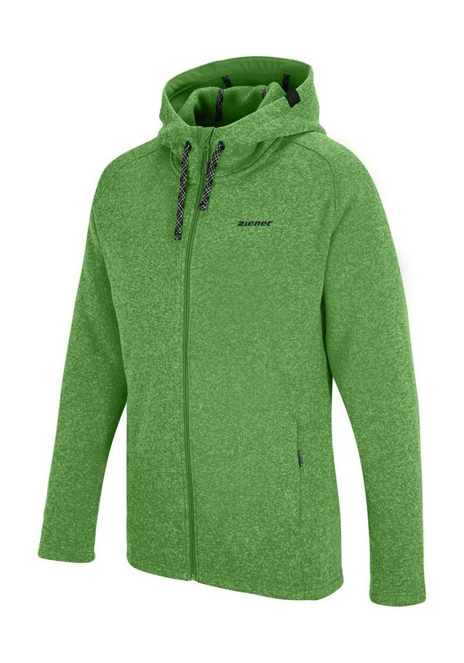 Ziener Unterzieher »JURIS man (underlayer hoody)« in spring green