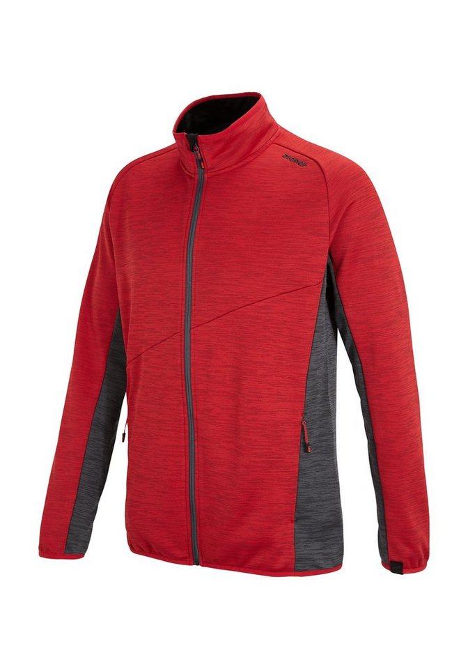 Ziener Unterzieher »JANIROM man (underlayer hoody)« in red pop
