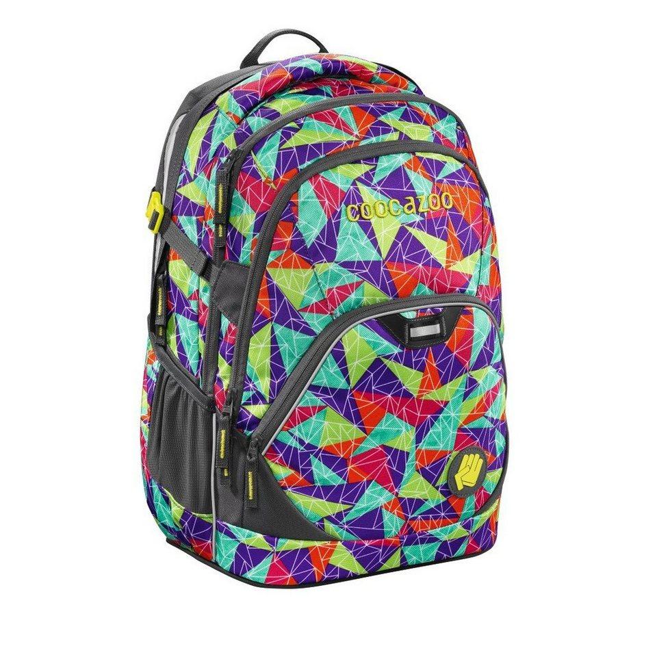"""Coocazoo Rucksack """"EvverClevver2"""" mit Laptopfach, Spiky Pyramid »Außenmaße 30 x 45 x 20c m«"""