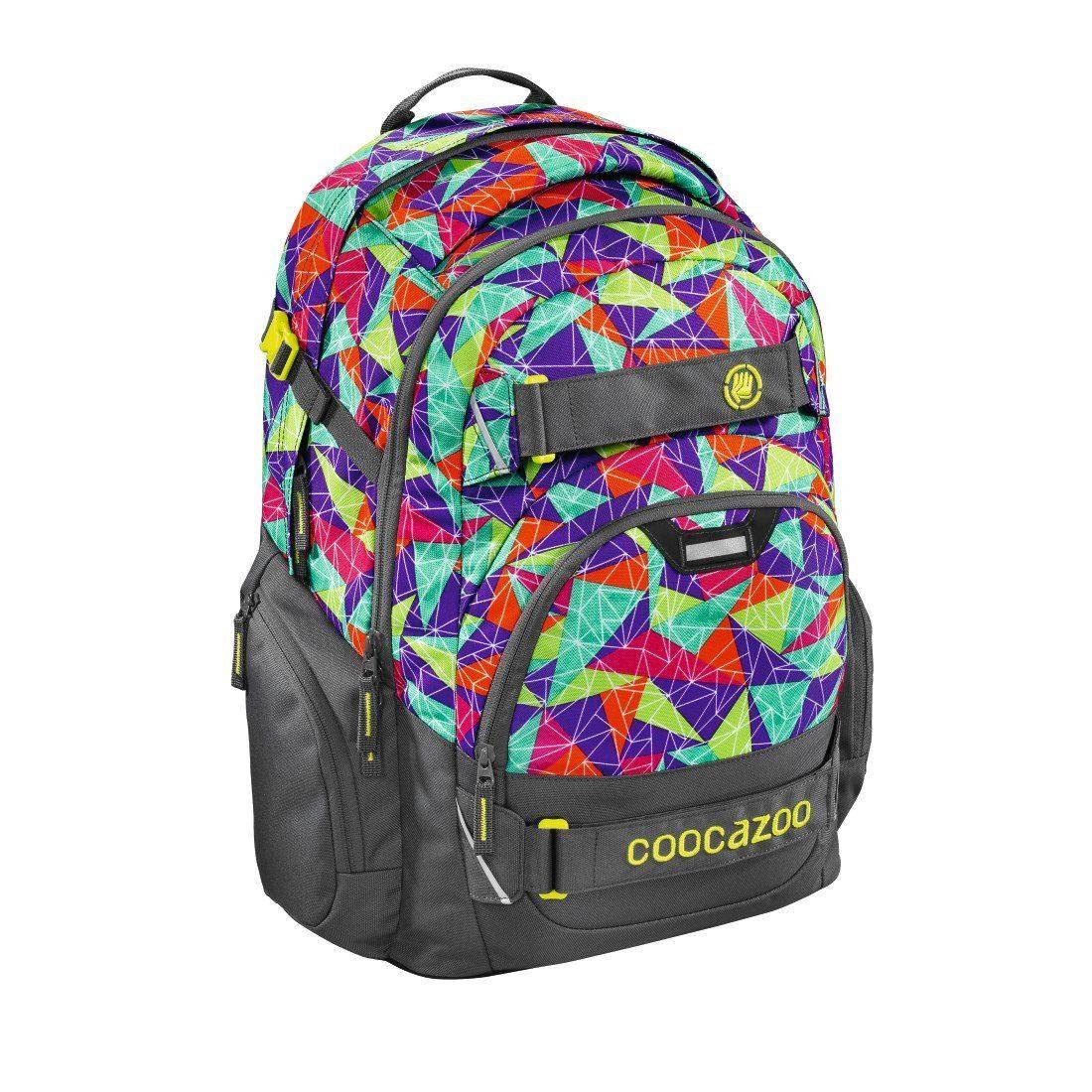 """coocazoo Rucksack """"CarryLarry2"""" mit Laptopfach, Spiky Pyramid »Außenmaße 30 x 44 x 21 cm«"""
