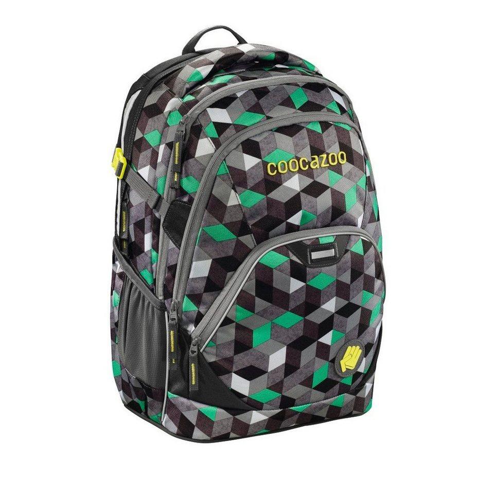 """Coocazoo Rucksack """"EvverClevver2"""" mit Laptopfach, Crazy Cubes »Außenmaße 30 x 45 x 20 cm«"""