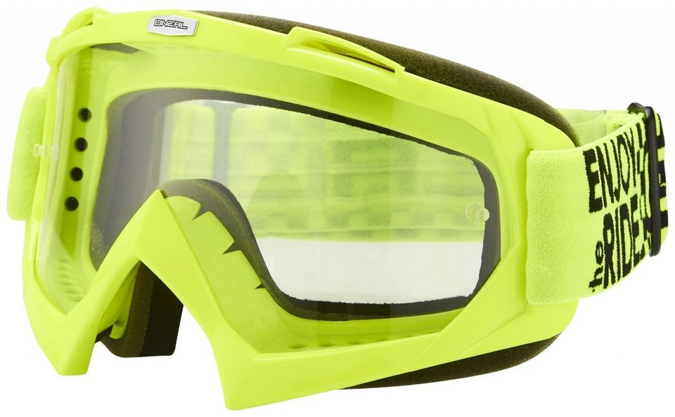 O'NEAL Radsportbrille »B-Flex Launch Goggle« in gelb