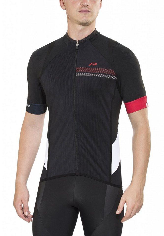 Protective Radtrikot »Race Shirt Men black« in schwarz