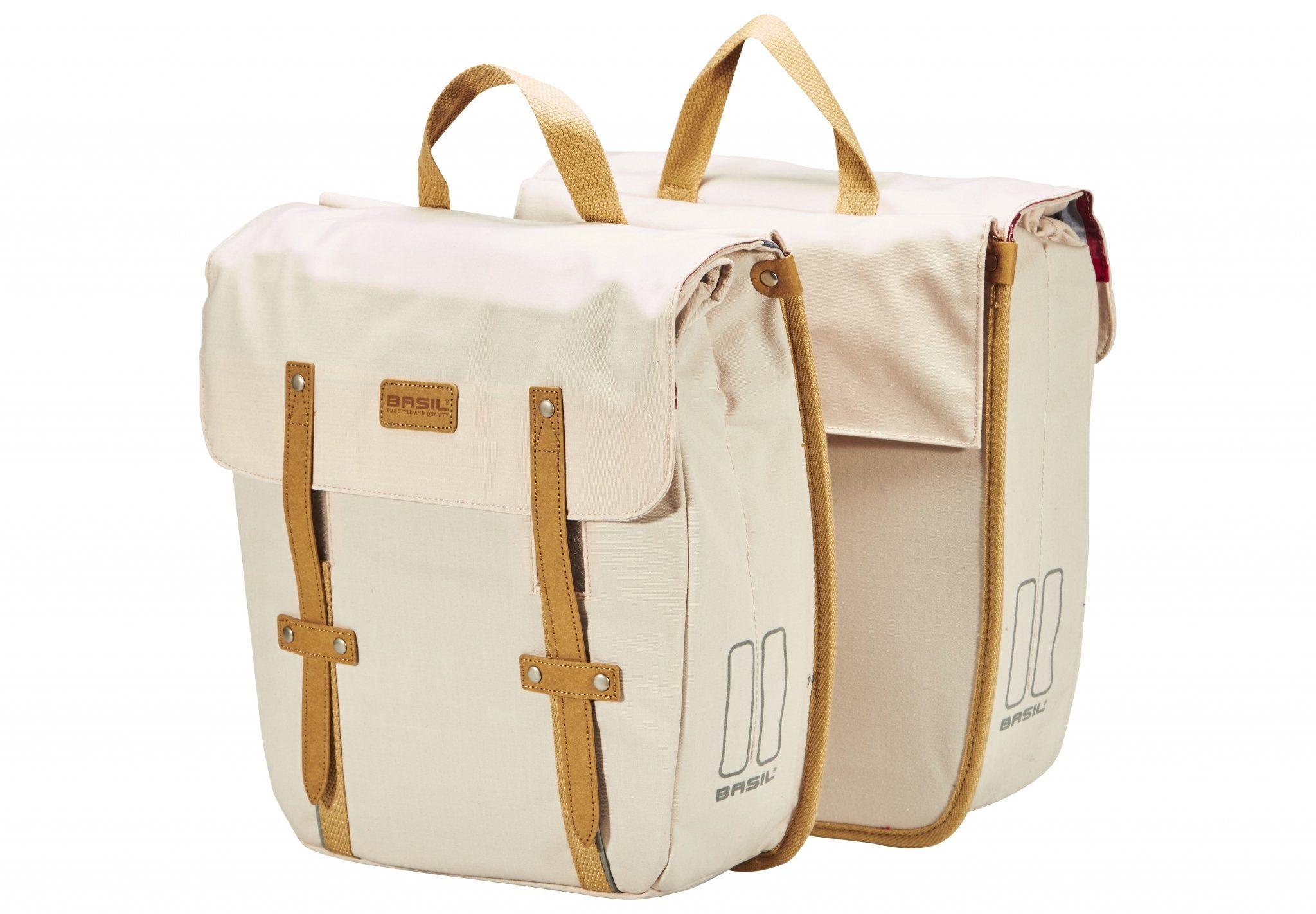 Basil Gepäckträgertasche »Portland Doppeltasche slimfit«