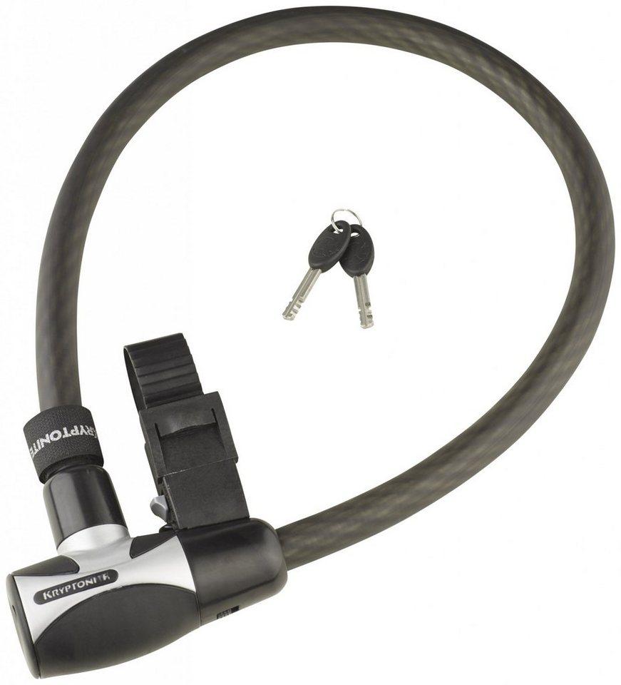Kryptonite Fahrradschloss »Hardwire 2085 Key Cable schwarz«