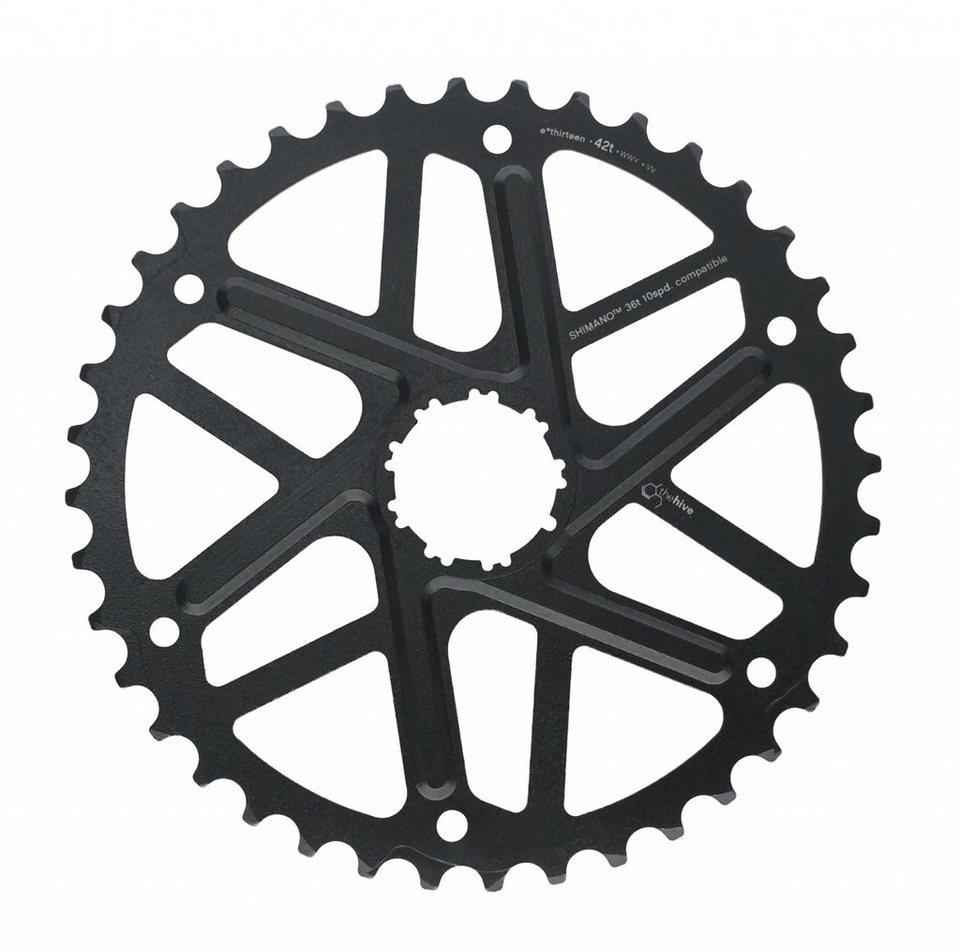 e*thirteen Fahrradkasetten »Extended Range Ritzel 10-Fach 42 Zähne für Shimano«