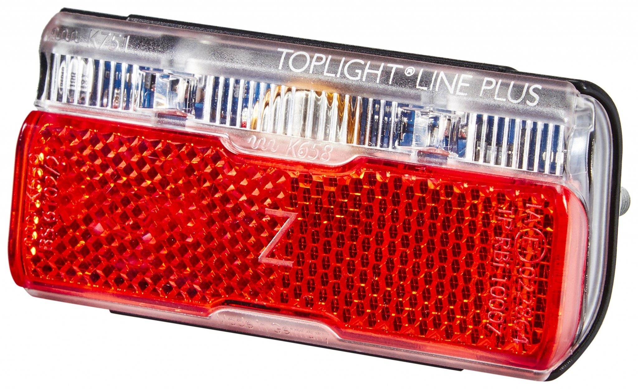Busch + Müller Fahrradbeleuchtung »Toplight Line Dynamo-Rücklicht mit Standlicht 80mm«