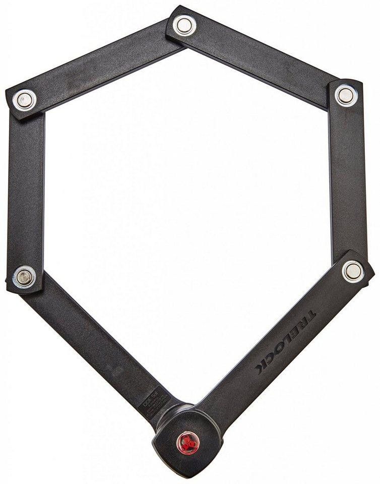 Trelock Fahrradschloss »FS 300 Manufaktur Faltschloss schwarz«