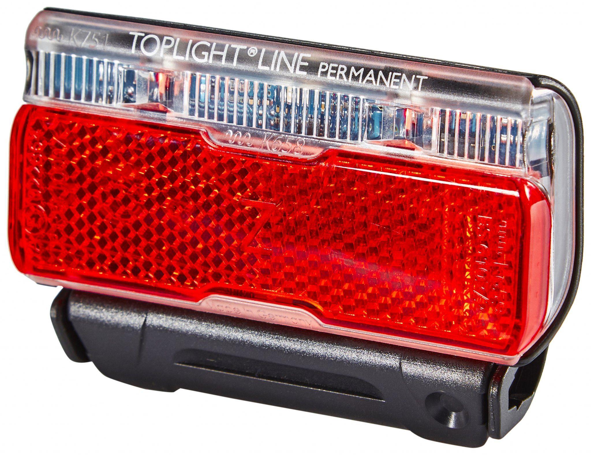 Busch + Müller Fahrradbeleuchtung »Toplight Line Batterie-Rücklicht permanent 50mm«