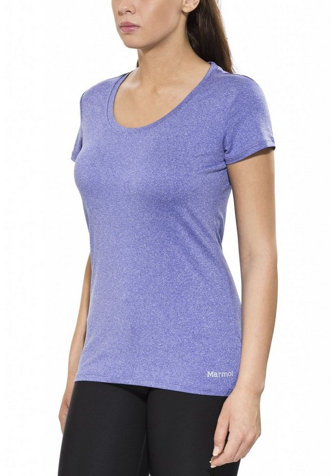 Marmot T-Shirt »All Around Tee SS Women« in blau