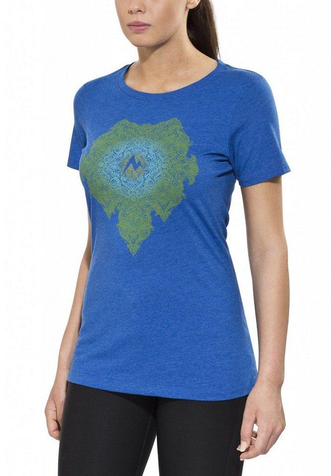 Marmot T-Shirt »Emmy Tee SS Women« in blau