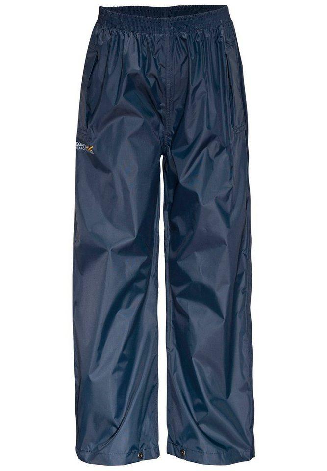 Regatta Hose »Pack-It Overtrousers Kids« in blau