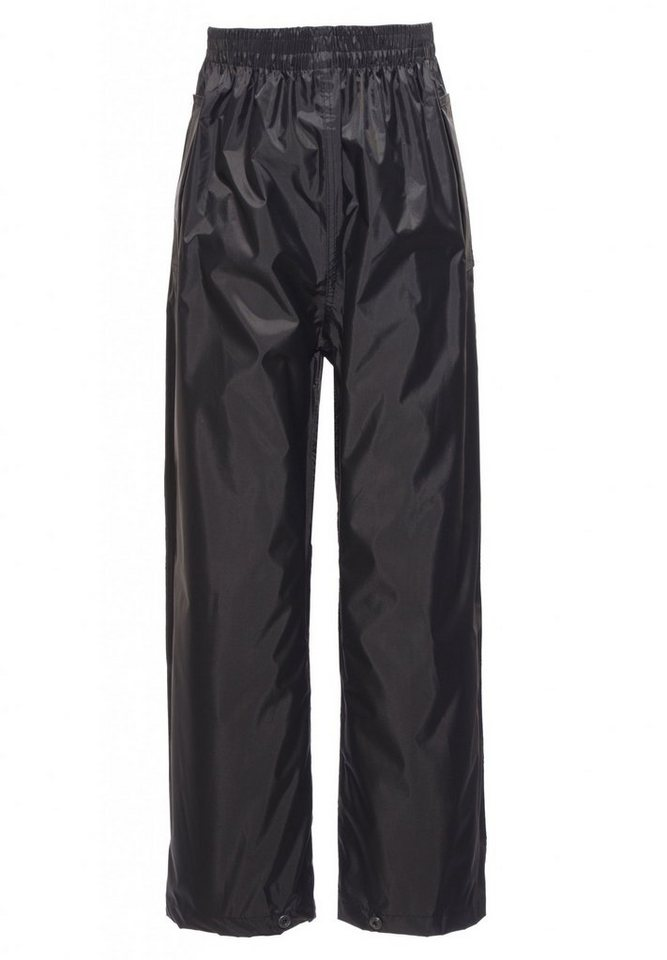 Regatta Hose »Pack-It Overtrousers Kids« in schwarz