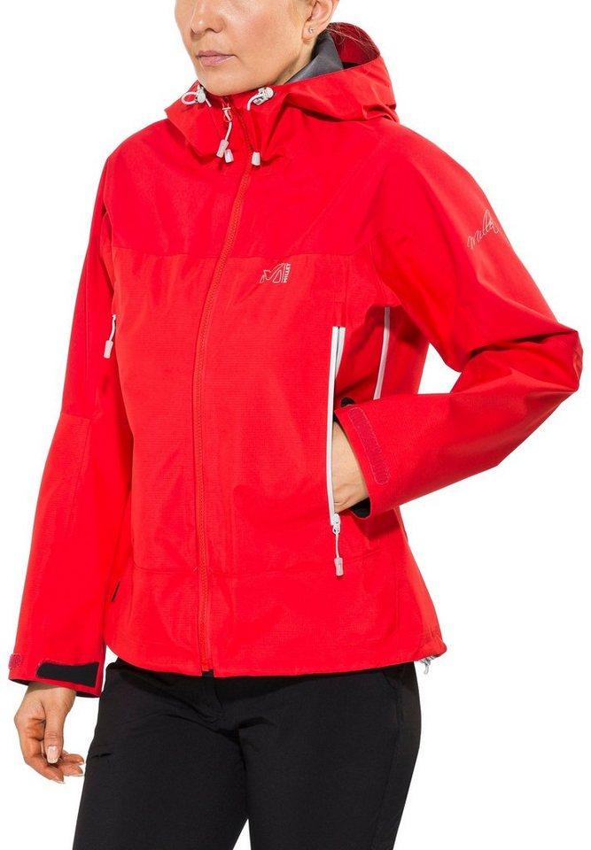 Millet Regenjacke »LD Jungfrau GTX Jacket Women« in rot