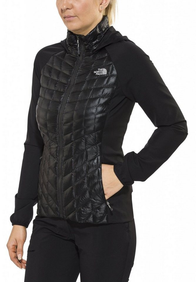 The North Face Outdoorjacke »Thermoball Hybrid Hoodie Women« in schwarz