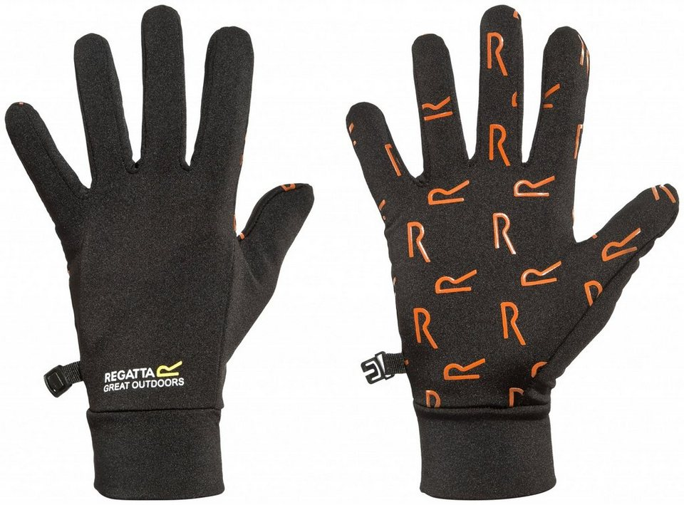 Regatta Handschuh »Grippy Gloves Kids« in schwarz