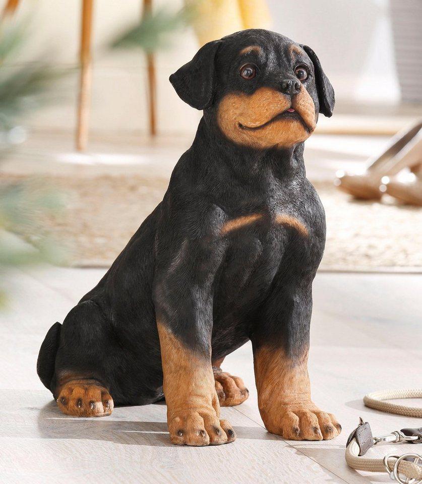 Home affaire Dekofigur »Hund« in schwarz