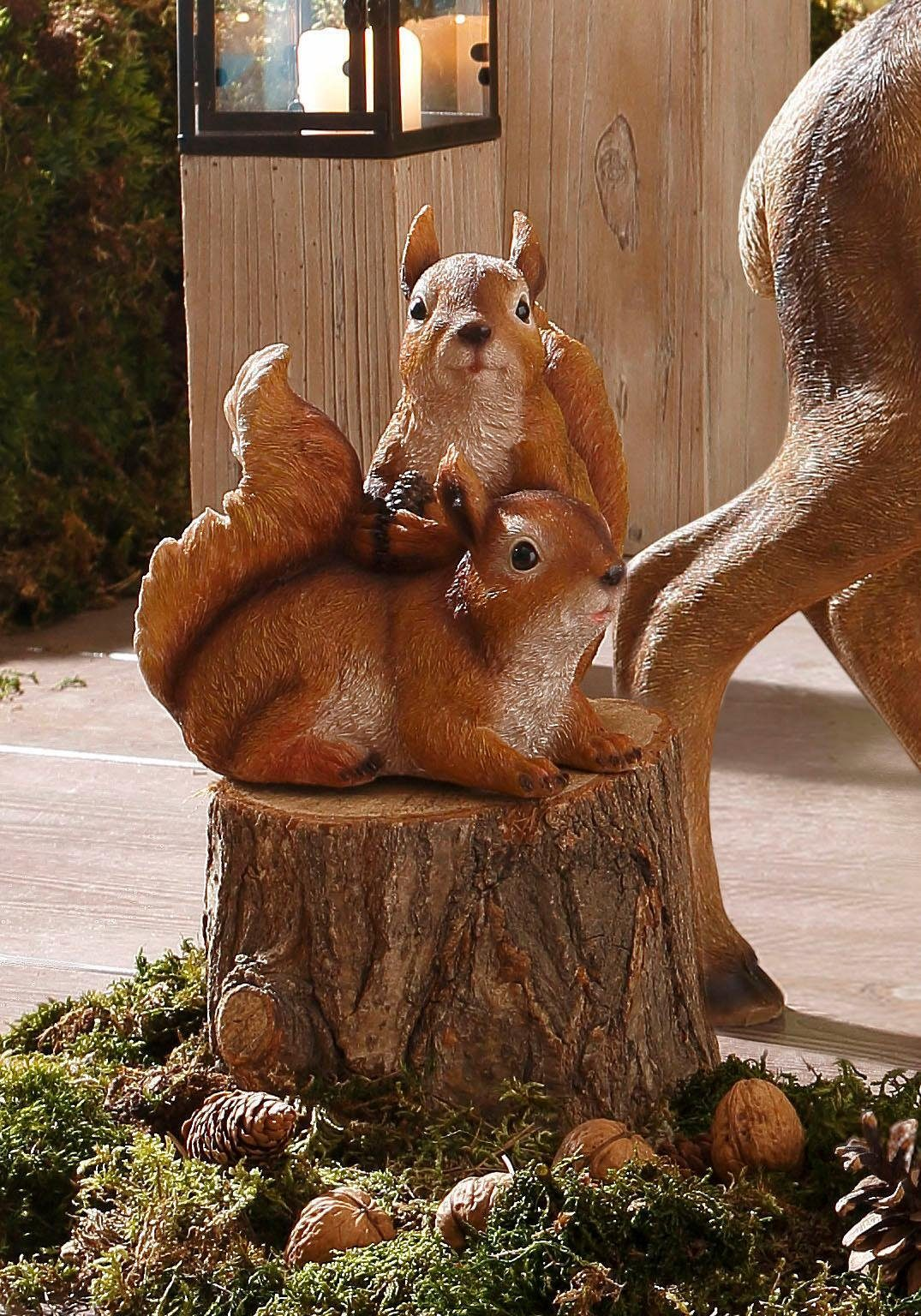 Home affaire Dekofigur »Eichhörnchen spielend«