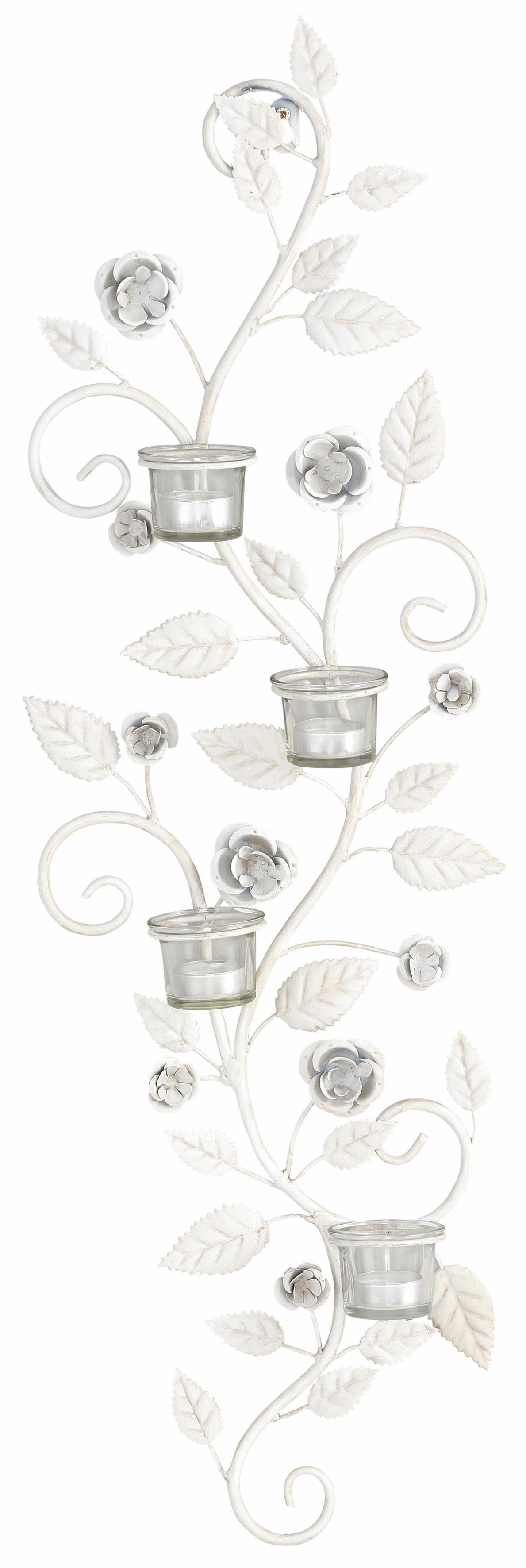 Home affaire Wandkerzenhalter »Blumenranke«