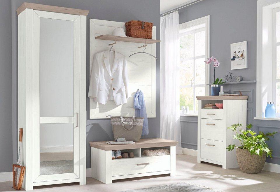 set one by musterring garderoben set york set 4 tlg. Black Bedroom Furniture Sets. Home Design Ideas