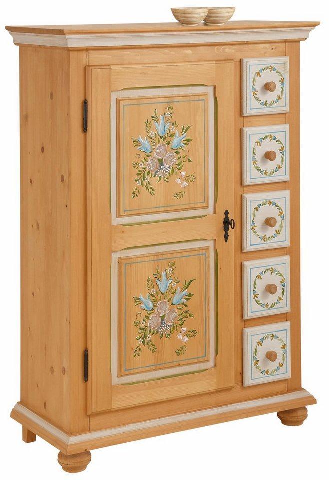 Premium Collection by Home affaire Vertiko in natur/weiß