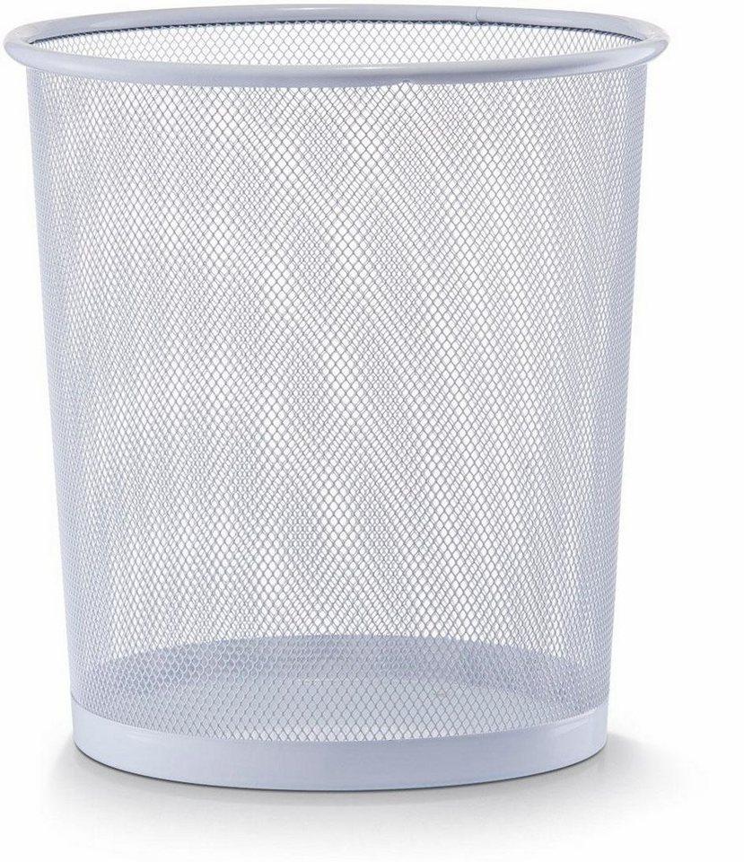 Home affaire Papierkorb in weiß