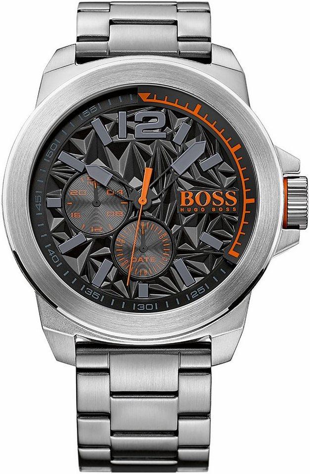Boss Orange Multifunktionsuhr »New York, 1513406« in silberfarben