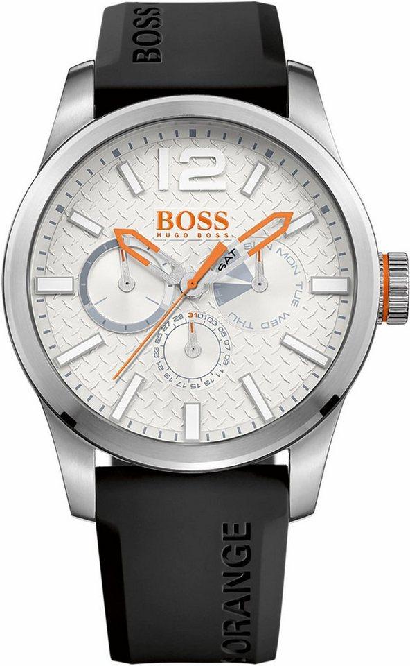 Boss Orange Multifunktionsuhr »Paris, 1513453« in schwarz