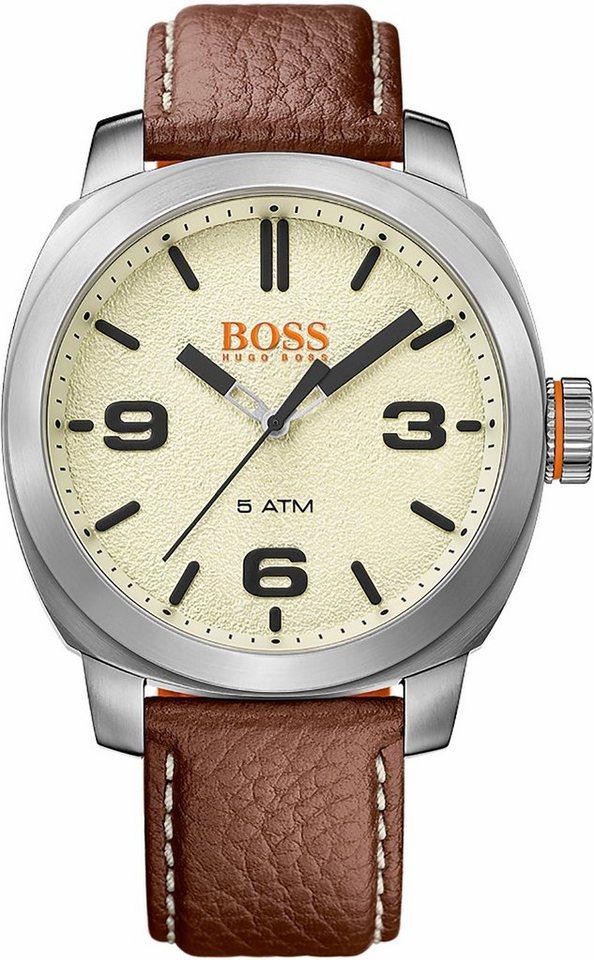 Boss Orange Quarzuhr »Cape Town, 1513411« in braun