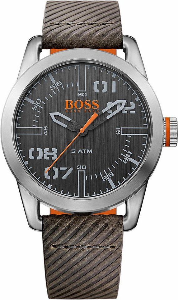 Boss Orange Quarzuhr »Oslo, 1513417« in grau