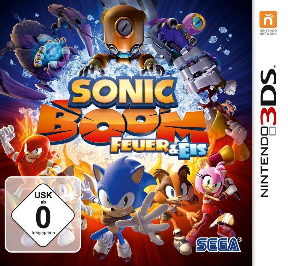 Sonic Boom: Feuer und Eis Nintendo 3DS