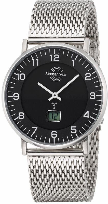 MASTER TIME Funkuhr »MTGS-10557-22M«, Mit Langzeitbatterie