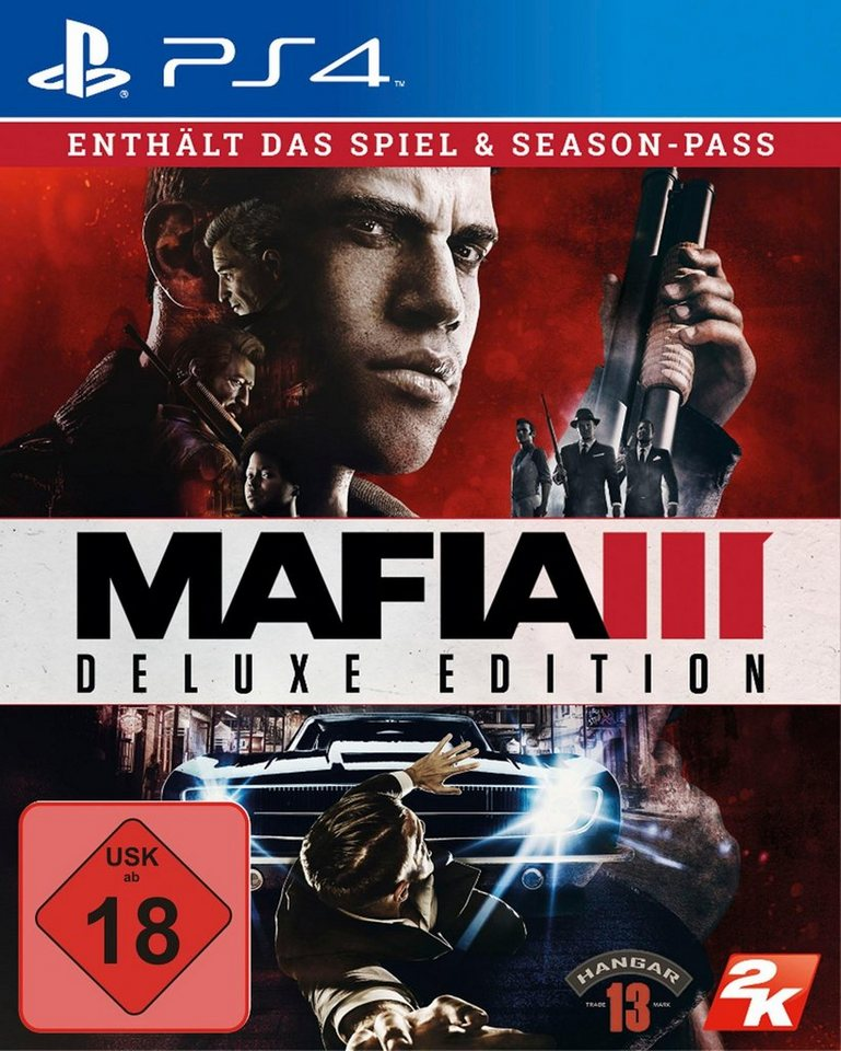 Mafia III Deluxe Edition PlayStation 4