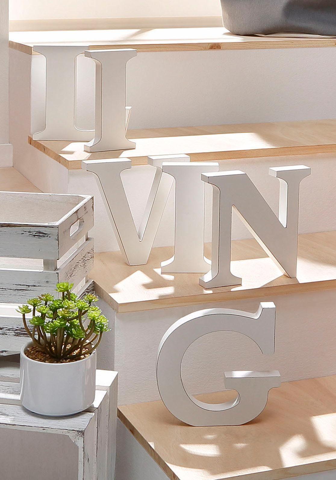 Home affaire Schriftzug »LIVING«
