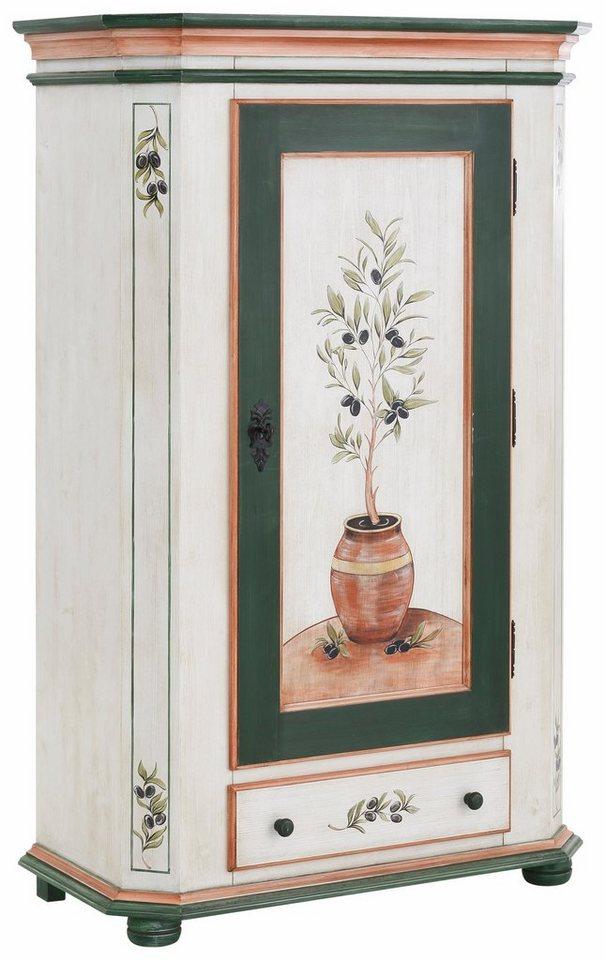 Premium Collection by Home affaire Garderobenschrank »Olive« in bunt