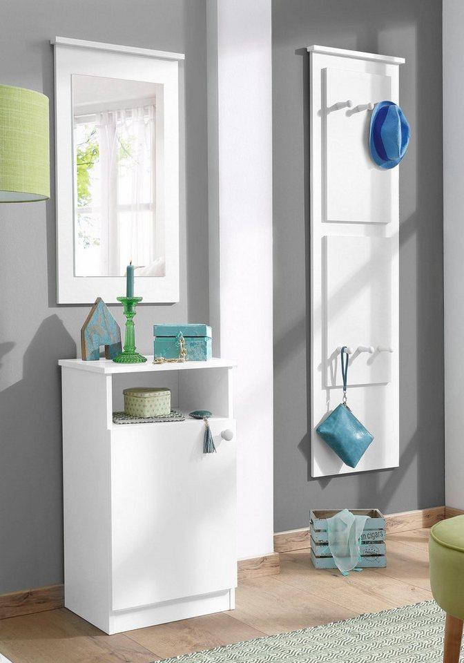 Home affaire Garderoben-Set »Gama« (3-tlg.) in weiß