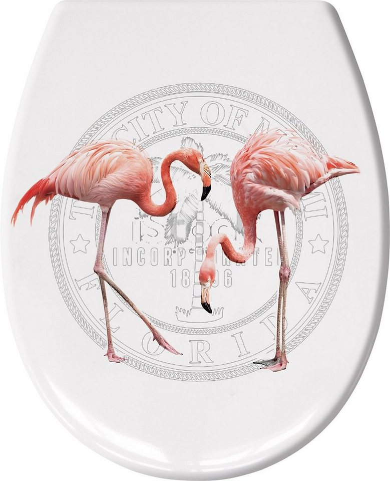 WC-Sitz »Flamingo« in koralle