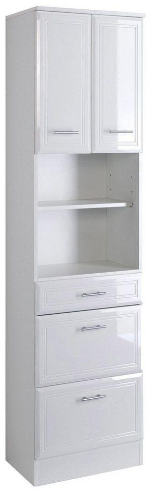 Hochschrank »Neapel«, Breite 50 cm in weiß