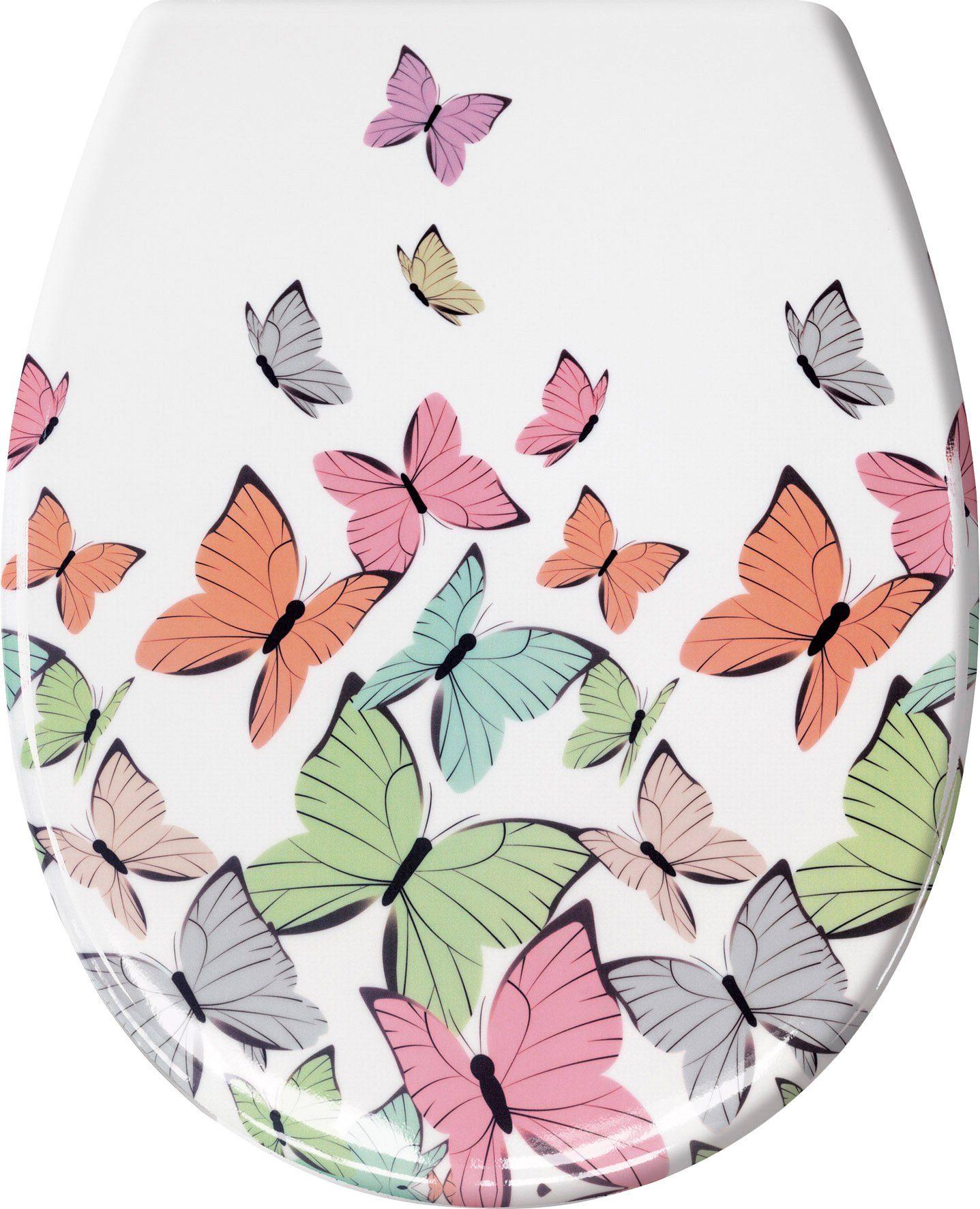 WC-Sitz »Butterflies«